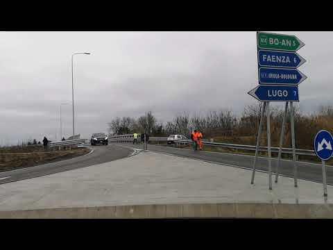 Taglio del nastro  per il nuovo ponte di Felisio a Solarolo