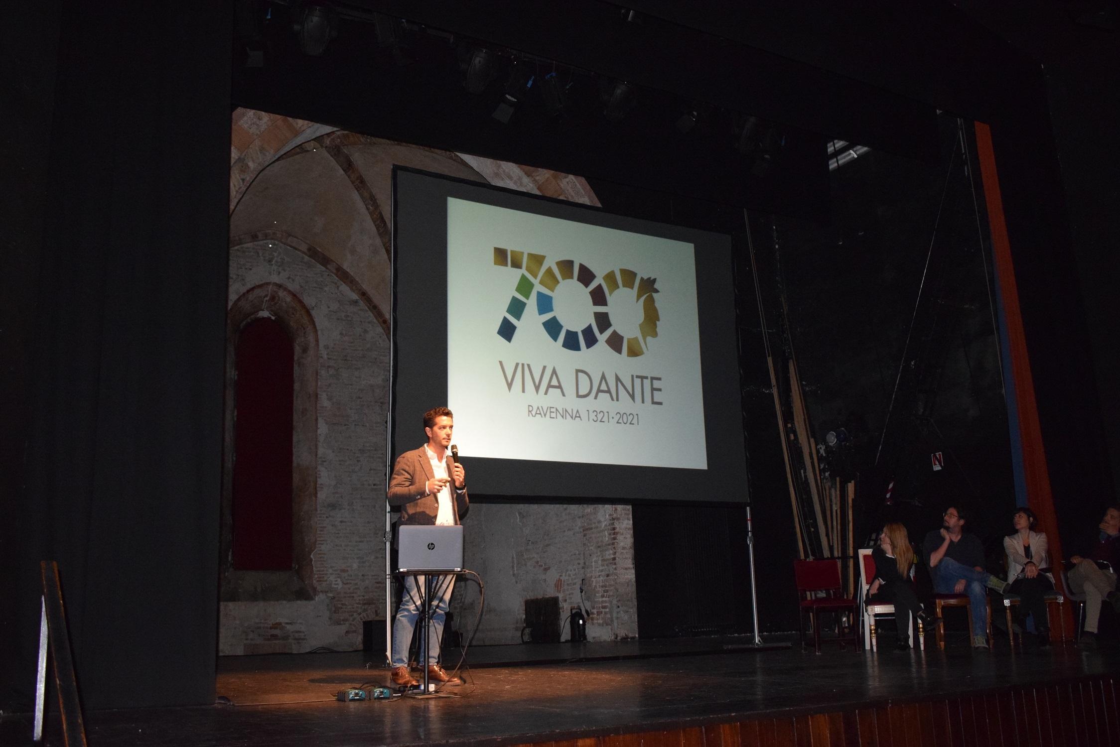 """""""Viva Dante"""", scelto a Ravenna il logo per il 7° centenario della morte"""