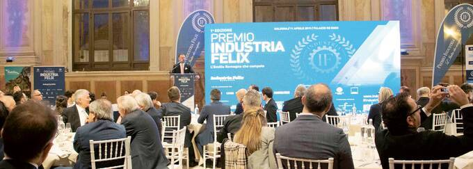 """Premio """"Industria felix"""": Crescono fatturati e addetti nelle società di capitale"""