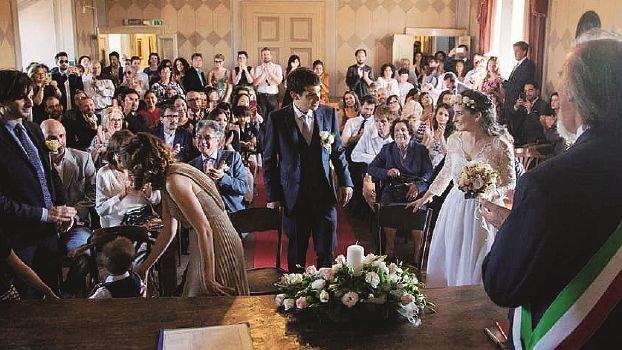 Al matrimonio invitati di 26 nazionalità