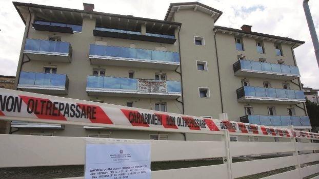 Appartamenti sequestrati lungo la via Del Porto a Cesenatico