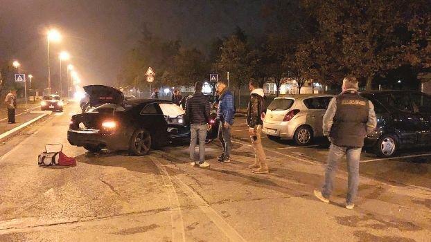 Cesena, incidente con l'auto rubata scappando dai carabinieri