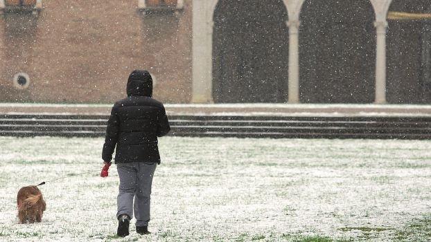 Assaggio d'inverno con neve. Fiocchi attesi in tutta la Romagna