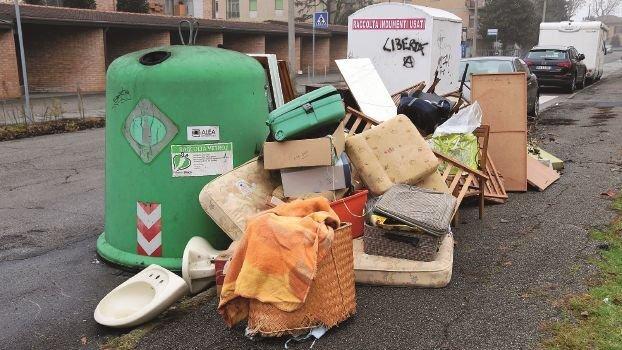 Forlì, Alea contro l'abbandono di rifiuti