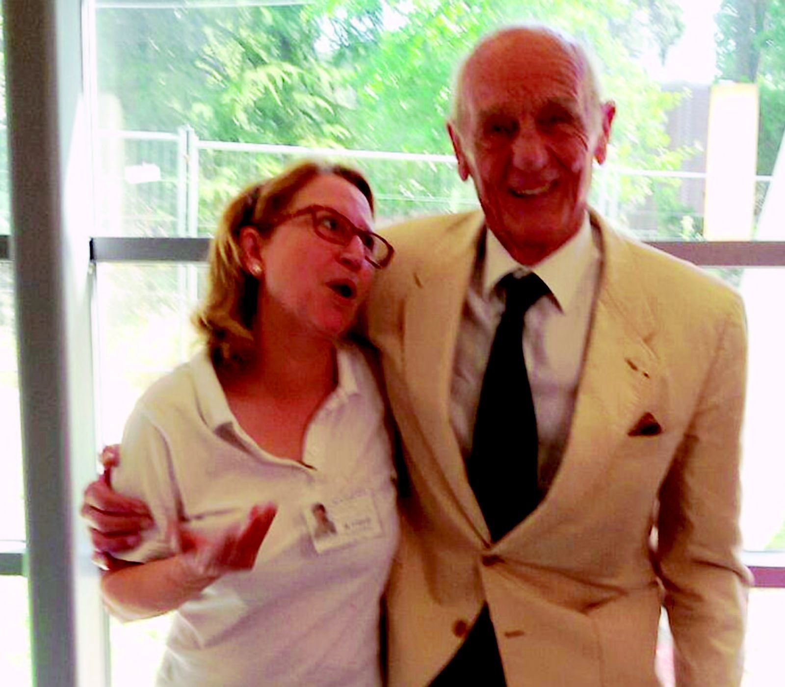 Laurea del figlio, Philippe Leroy a Forlì