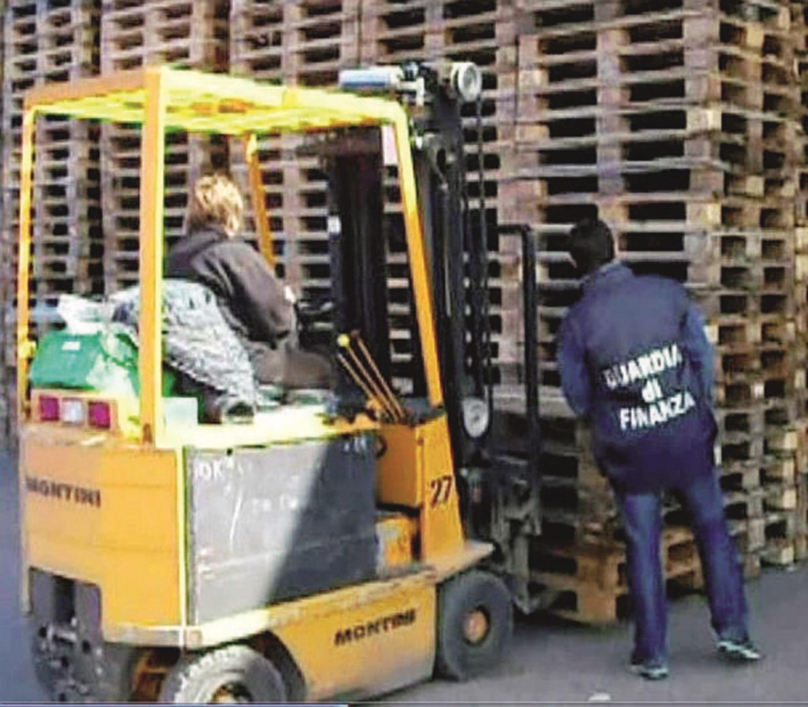 Pallets: fatture false per 11 milioni di euro