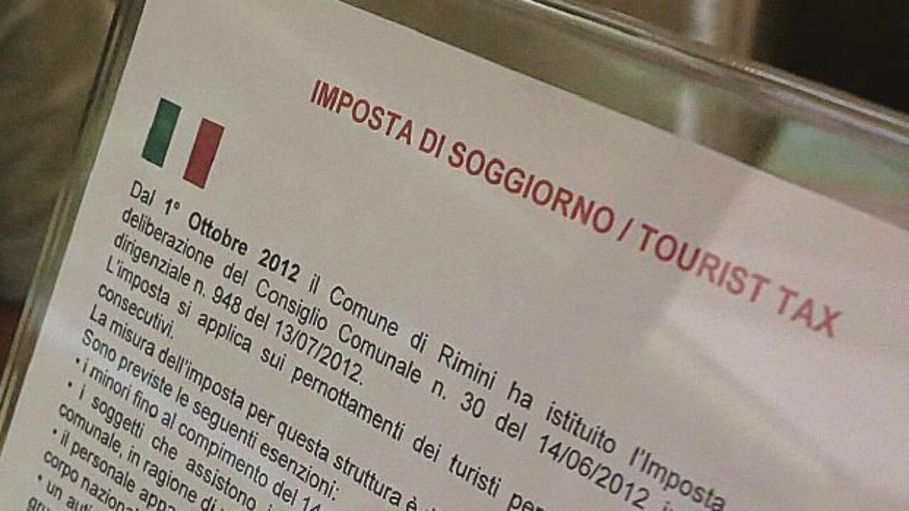 Rimini. Imposta di soggiorno non versata, 14 albergatori ...