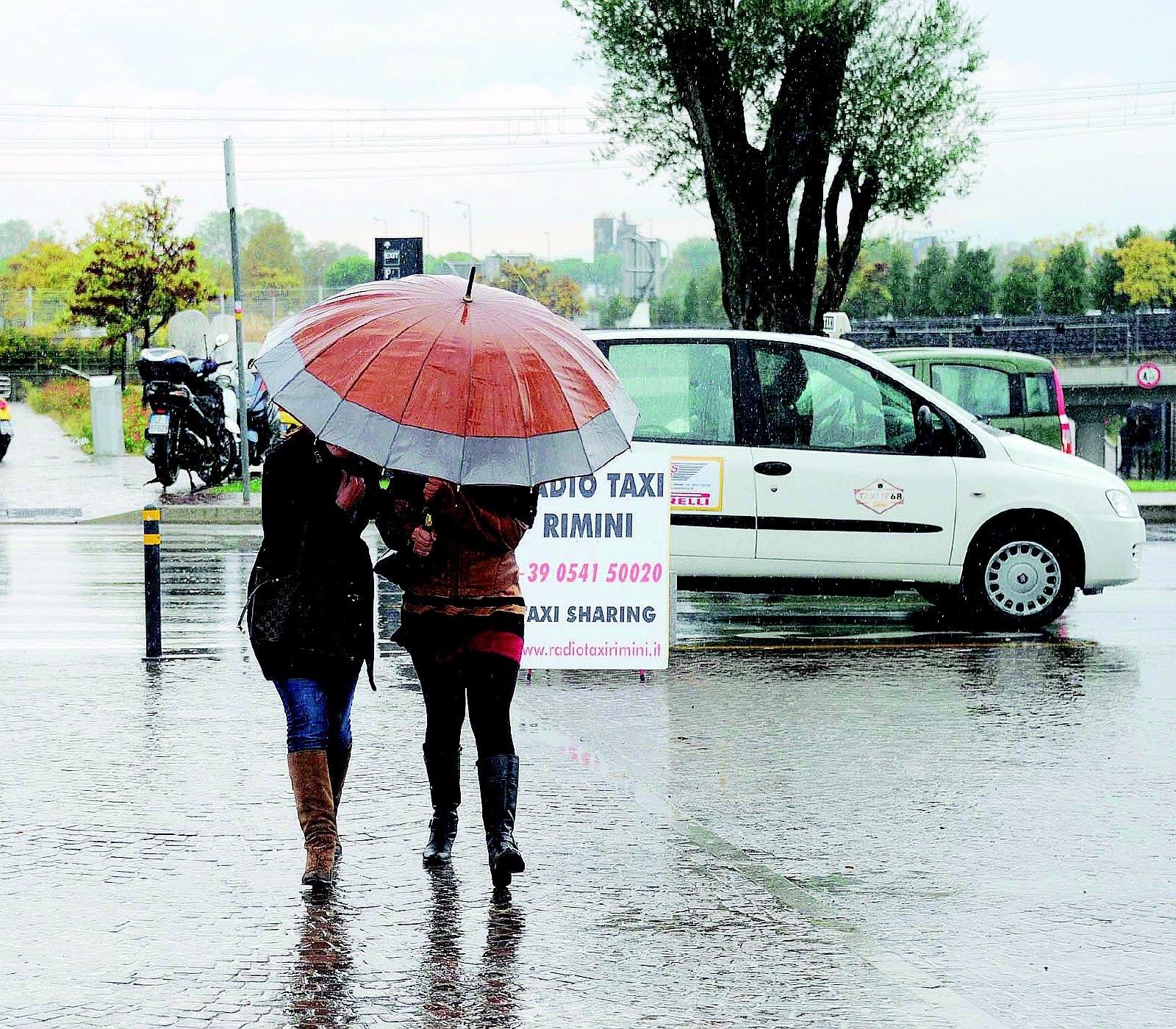 Allerta meteo a Ravenna per criticità idraulica