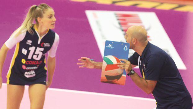 Volley, la Conad Ravenna ha bisogno di tre sorsi di Marsala