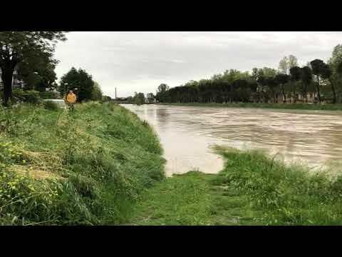 Cesena, allerta arancione per piene di fiumi e corsi d'acqua minori
