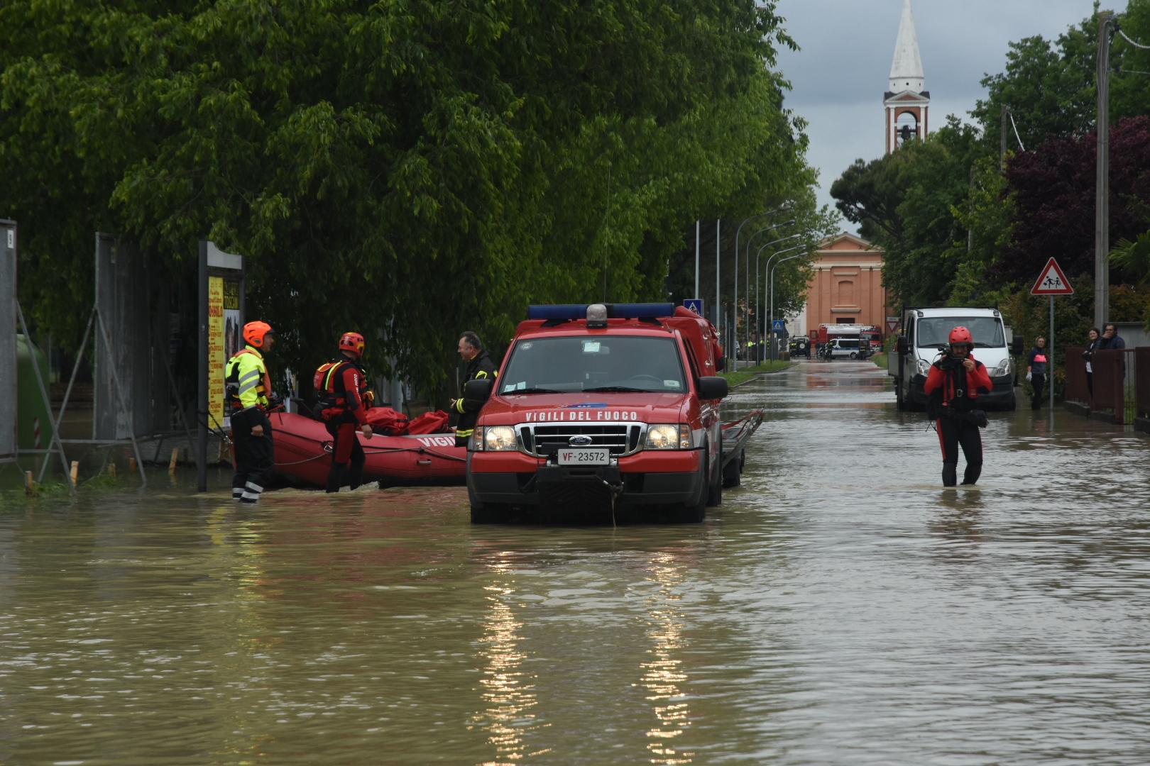 Villafranca di Forlì sott'acqua, la Procura potrebbe aprire un'inchiesta