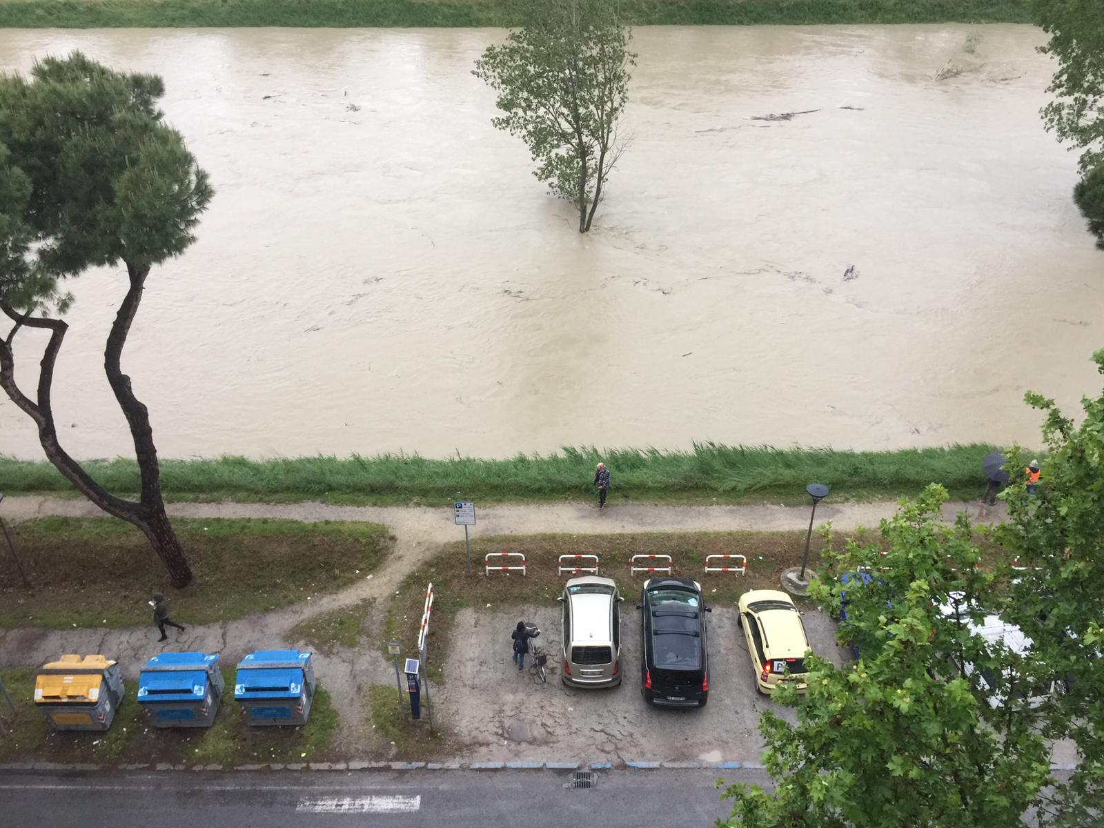 Savio straripato, a Cesena stimati danni per un milione e mezzo