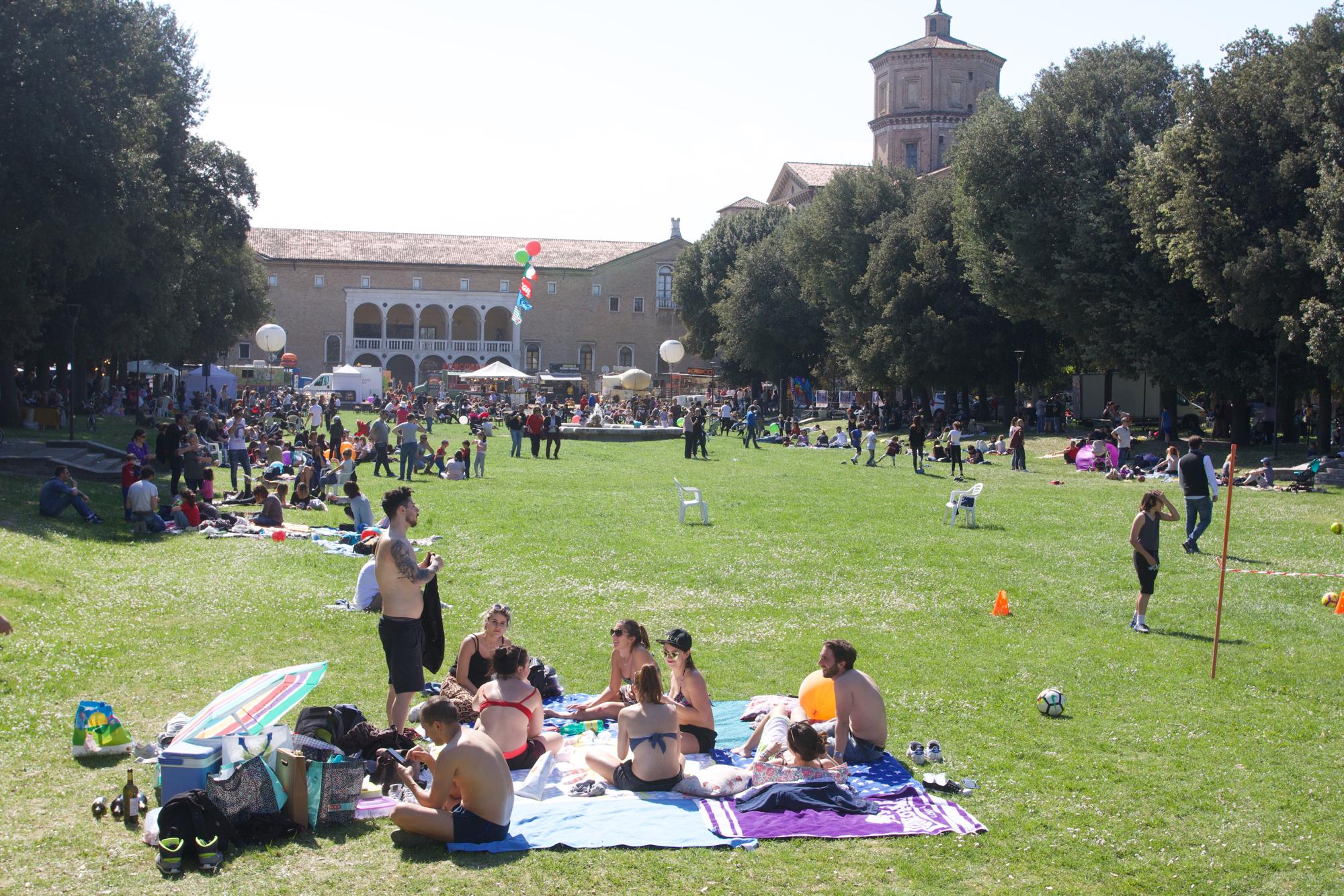 Lavoro, musica ma anche tintarella, così Ravenna ha celebrato il 1 maggio