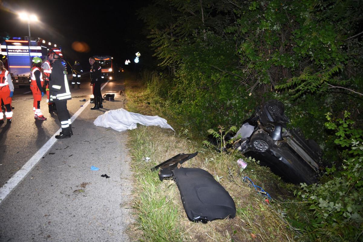 Tamponamento a Forlimpopoli, muore 64enne, feriti due giovani di Cesena