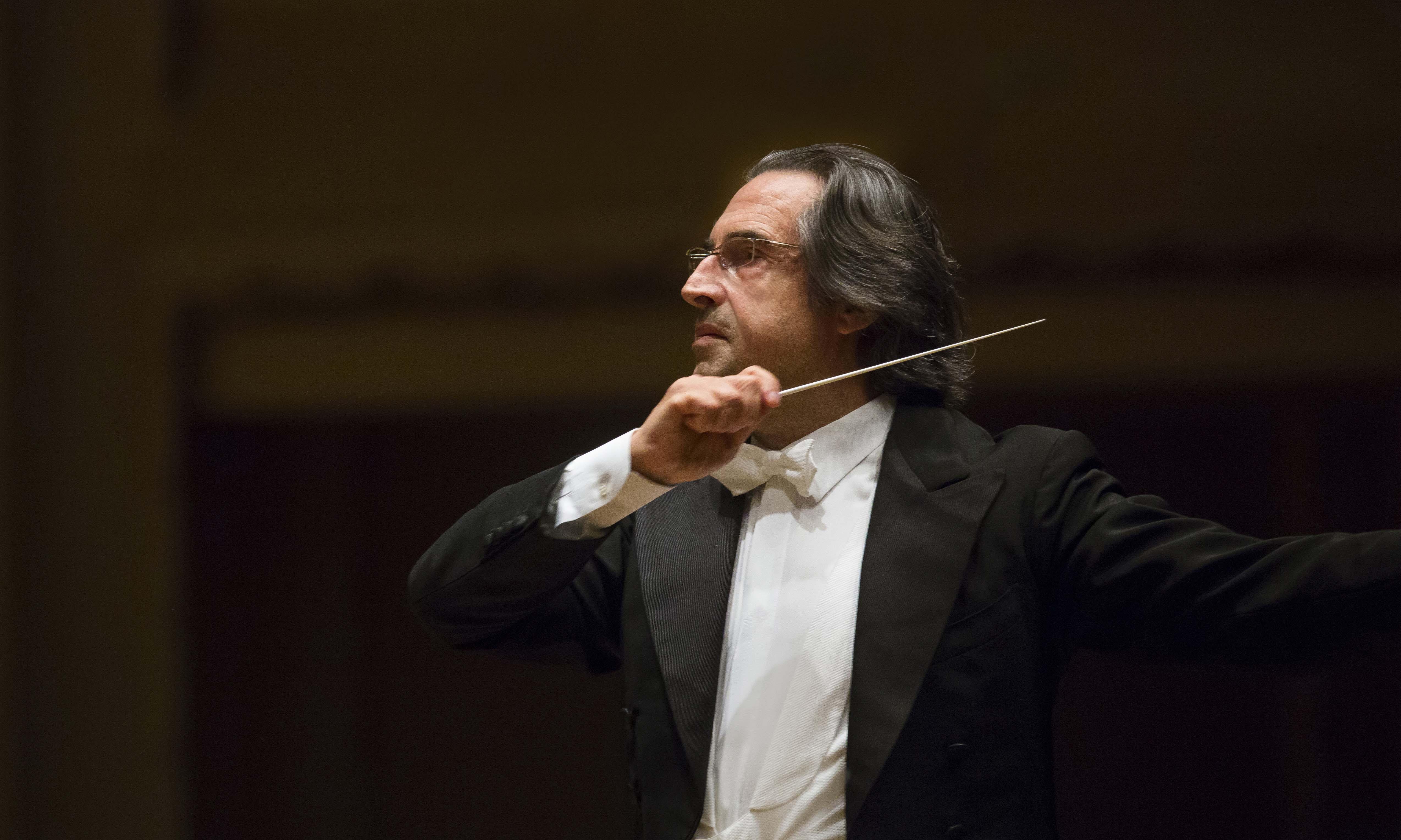 Rimini, Riccardo Muti al Teatro Galli