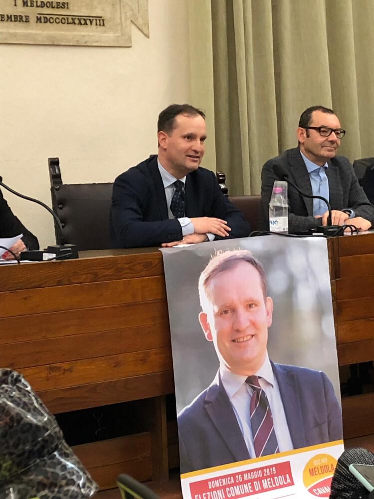 Risultati elezioni, Cavallucci è il nuovo sindaco di Meldola
