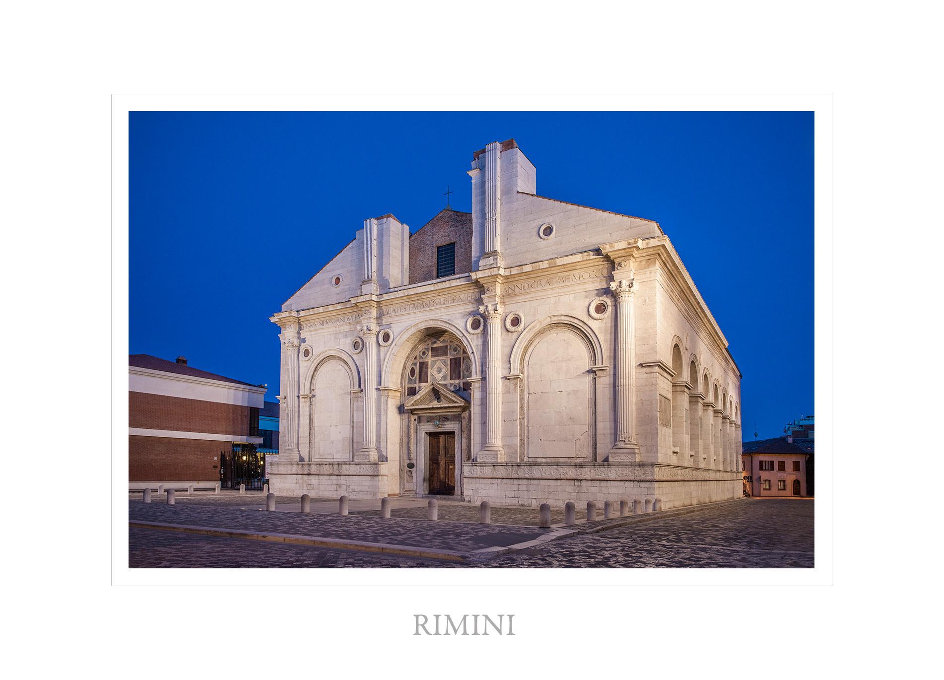 Tempio Malatestiano di Rimini: nuovo saggio di Pier Giorgio Pasini
