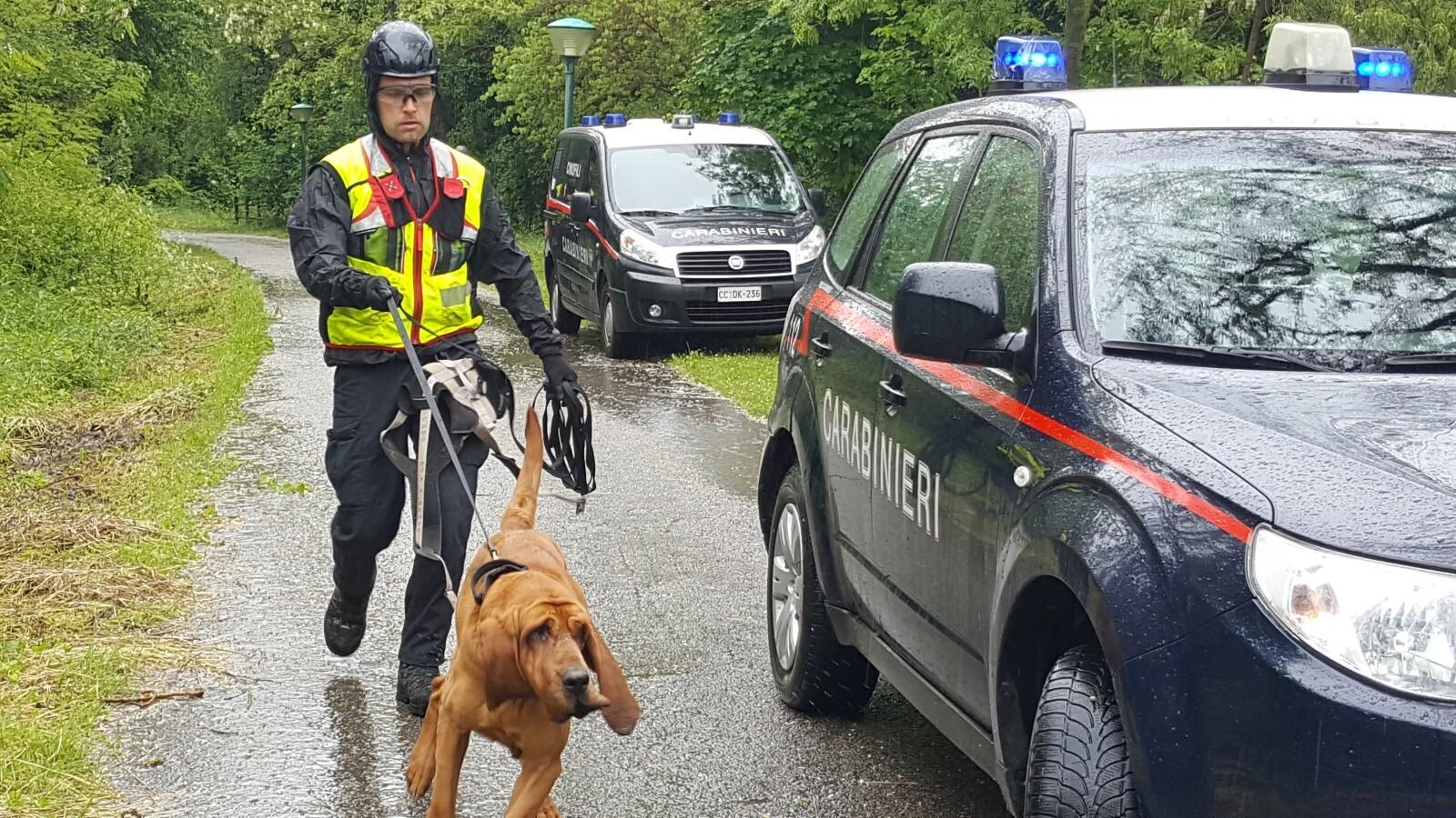 Donna sparita a Novafeltria, ricerche lungo il fiume con droni e cani VIDEO