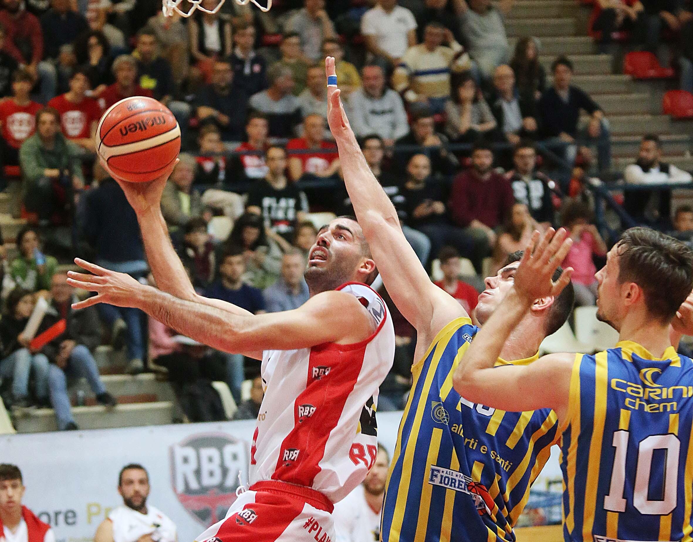 Basket C Gold, rimonte vincenti per Rbr e Virtus