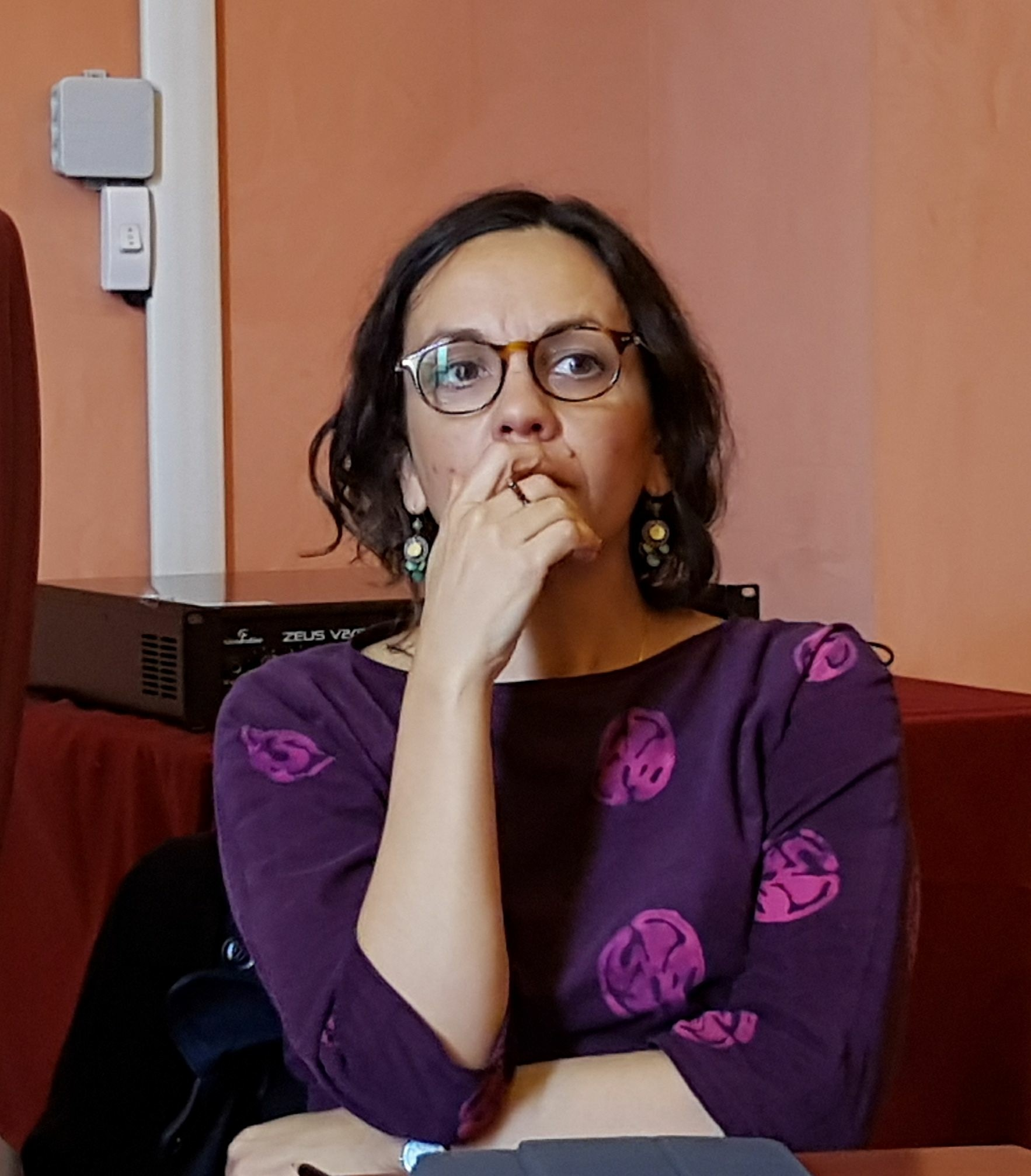 Elettra Stamboulis presenta a Ravenna il libro a fumetti sulla sua Grecia