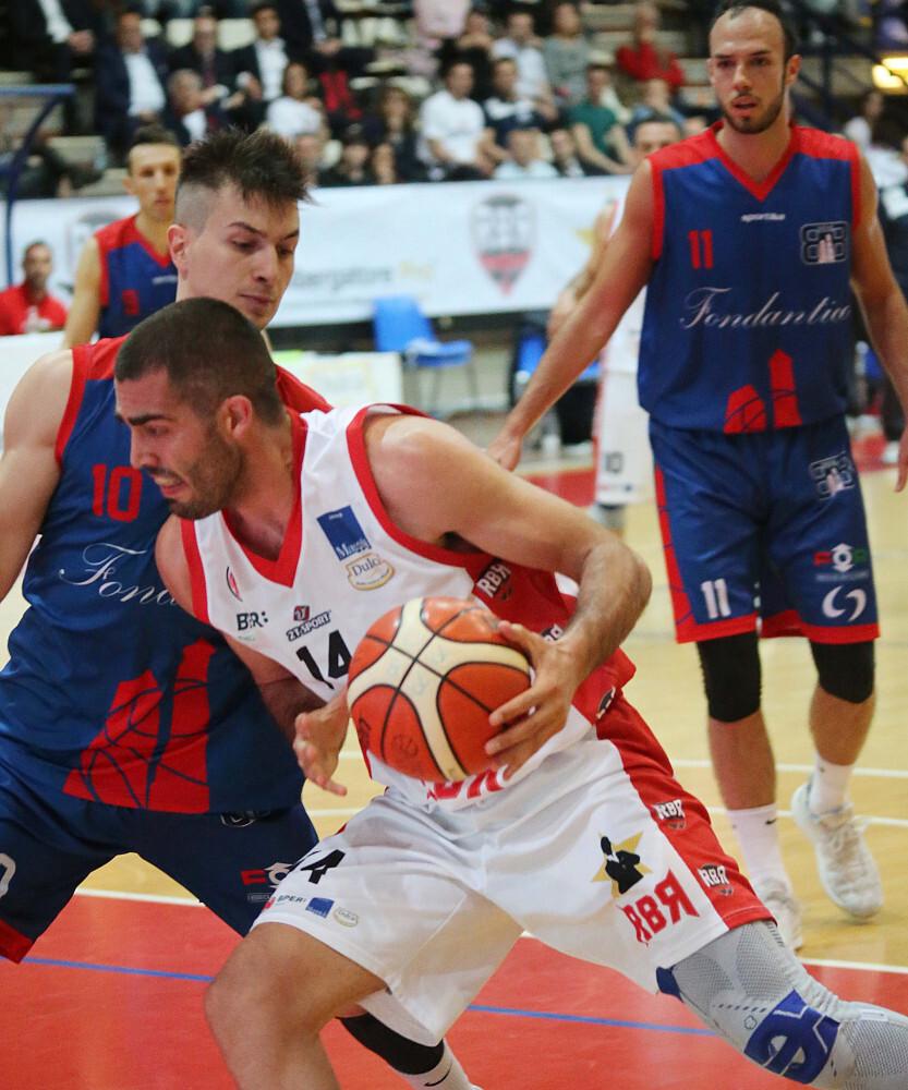 Basket C Gold play-off, la Rbr Rimini festeggia il salto in Serie B