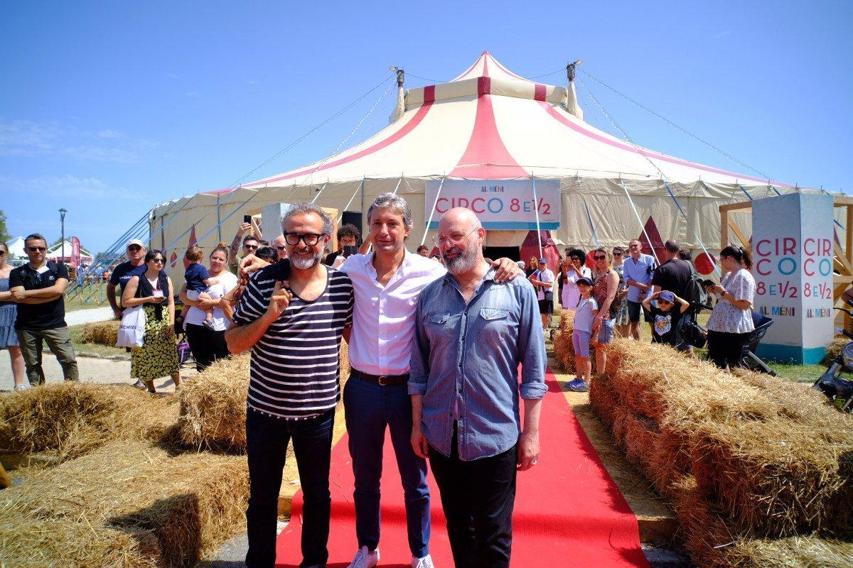 Rimini, la magia del circo dà il via ad Al Meni con Massimo Bottura