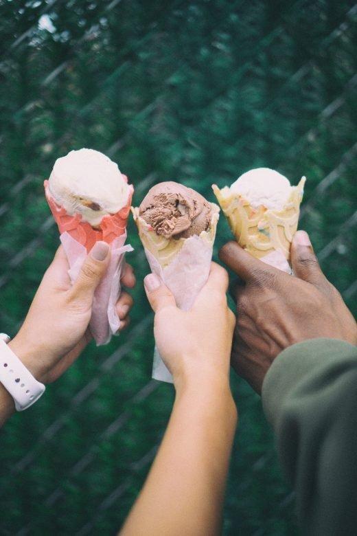 I cinque gelati per novanta bambini