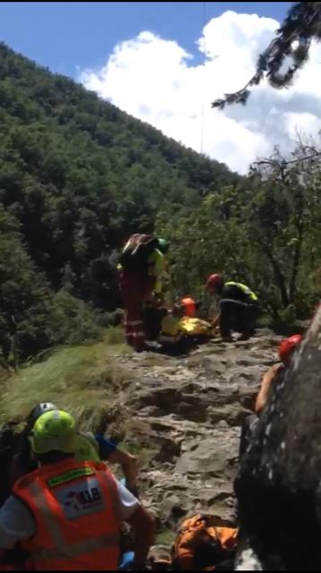 Un 32enne ferito grave in mountain bike a Bagno di Romagna - IL VIDEO
