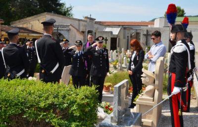 Novafeltria, cerimonia per ricordare il carabiniere ucciso in servizio