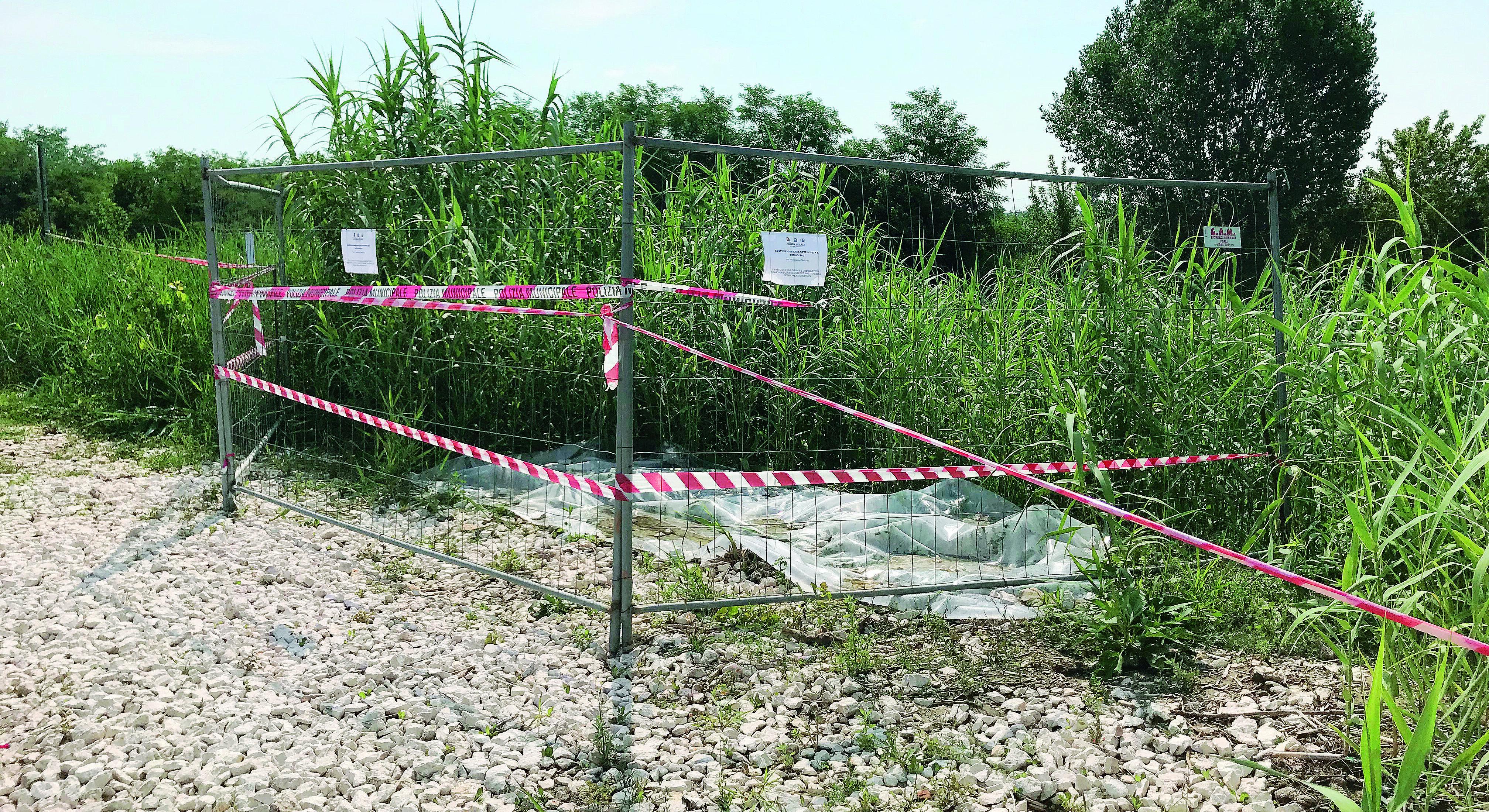 Ravenna, imprenditore sversa liquami. Sequestrato tratto di argine fluviale