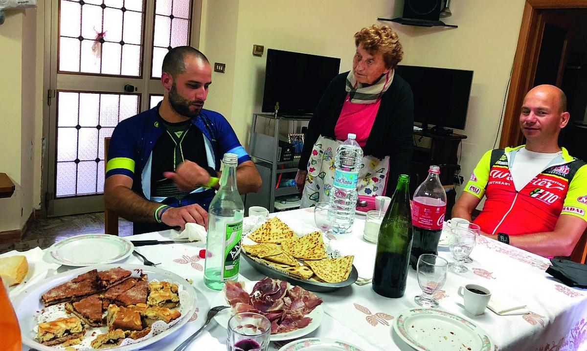 Alta Valmarecchia, cicloturismo con pranzo dagli anziani