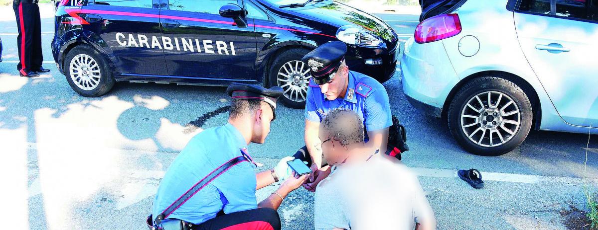 Rimini, sfuggono all'alt: folle inseguimento poi la cattura