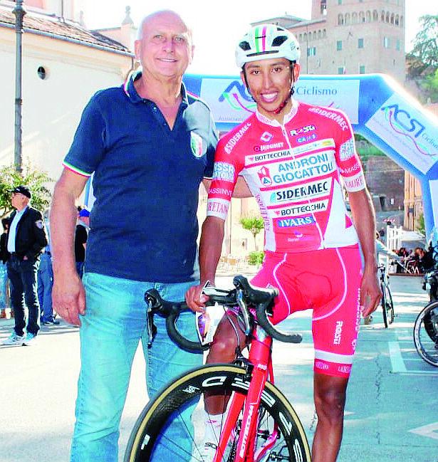 Ciclismo, Egan Bernal dalla Romagna al trionfo al Tour