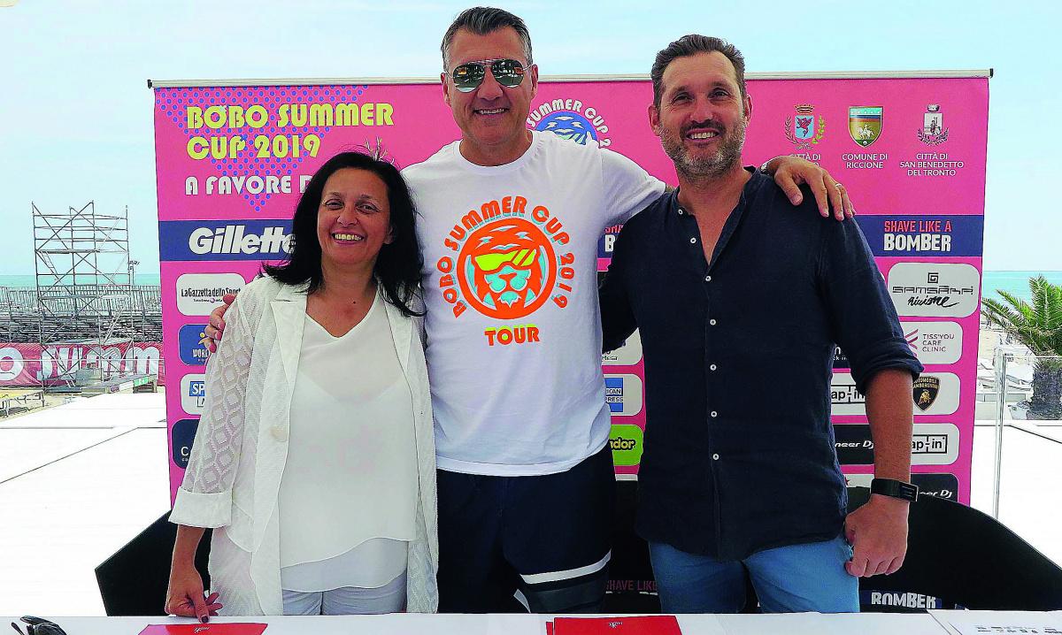 Riccione, vetro al bando per la Bobo Summer cup
