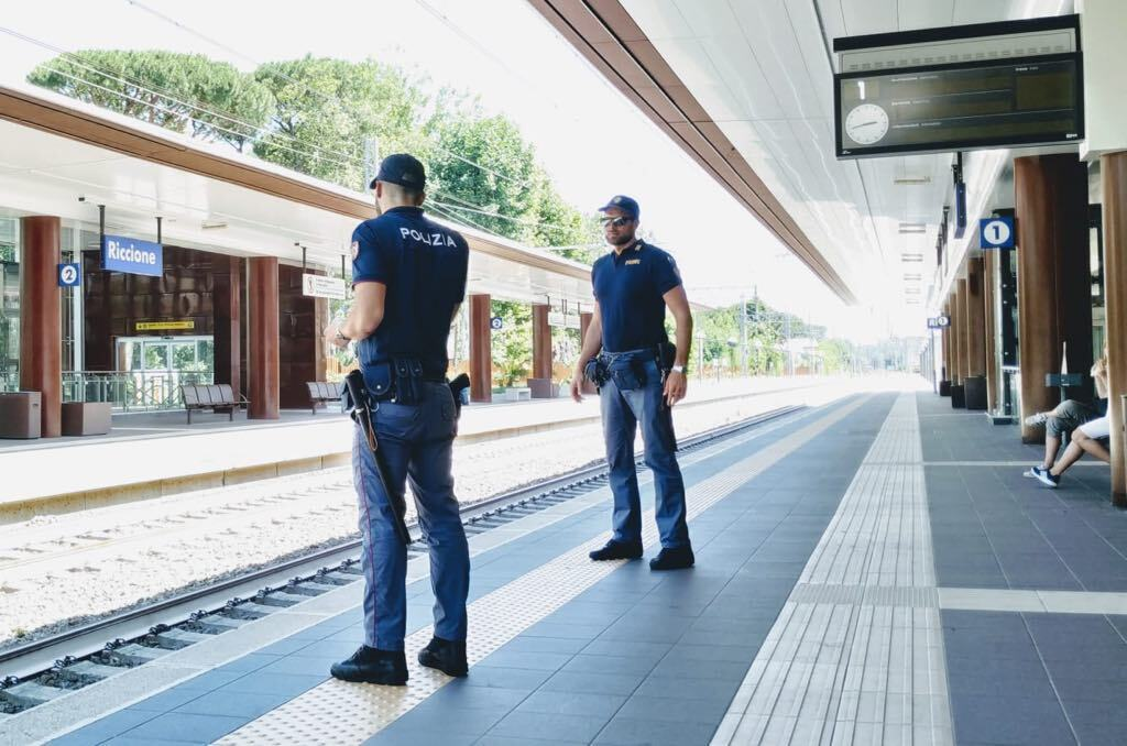 Riccione, torna il presidio di polizia ferroviaria in stazione