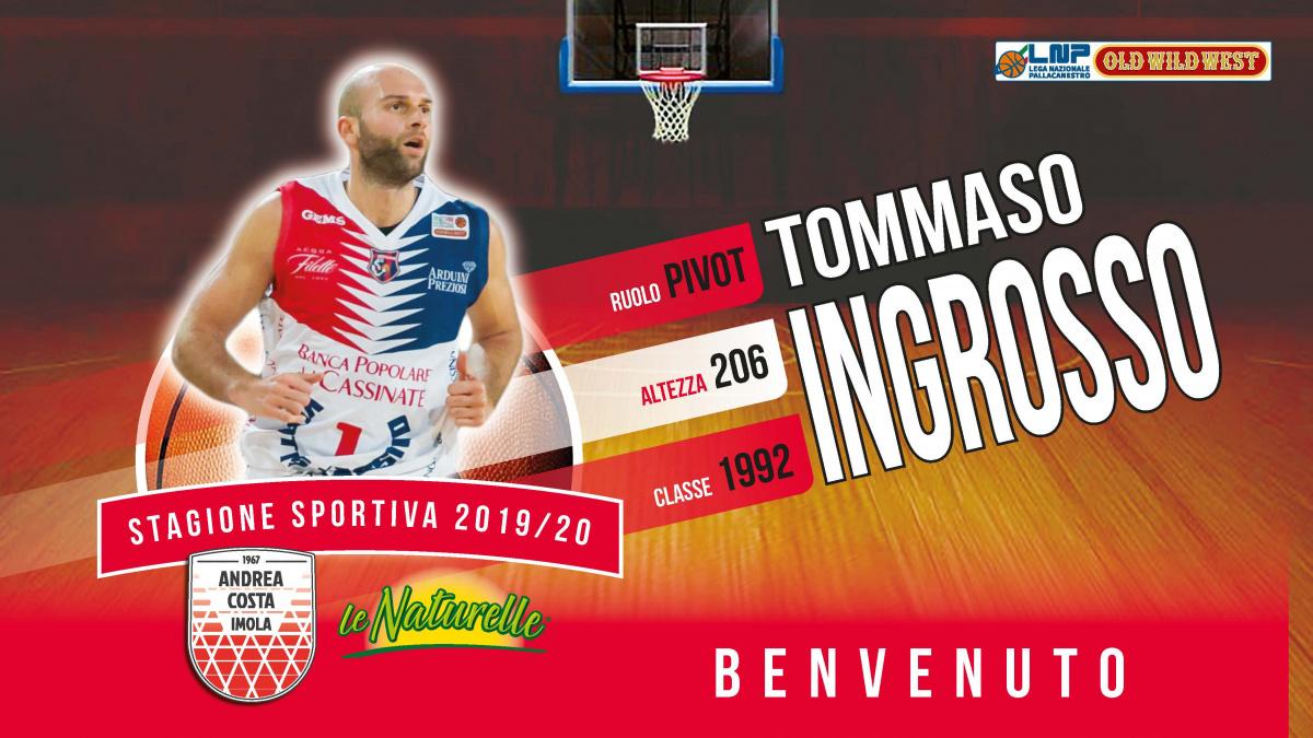 Basket, Tommaso Ingrosso a Imola
