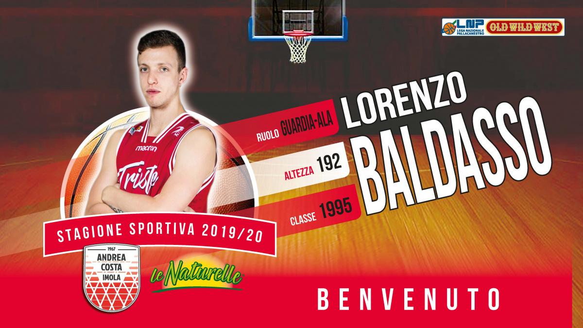 Basket, Le Naturelle Imola ingaggia Lorenzo Baldasso
