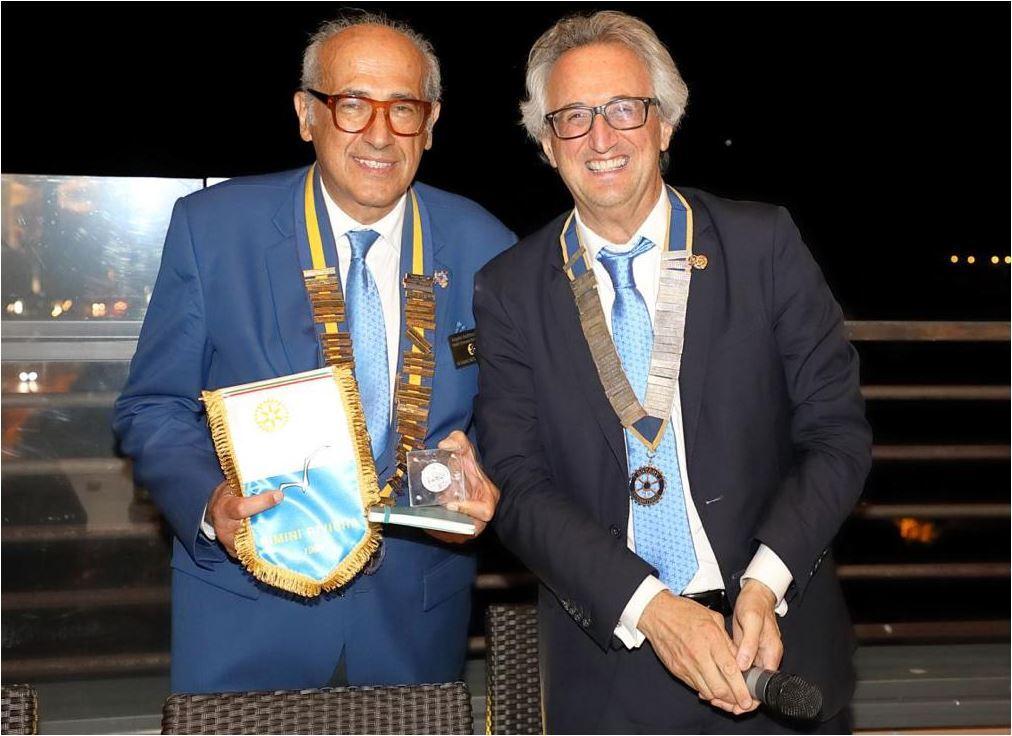 Rotary, il governatore in visita a Rimini