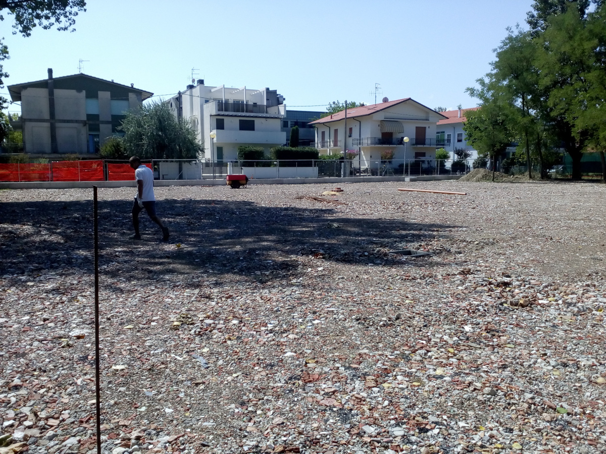 Cesenatico, area Ex Peligro attrezzata per la sosta camper