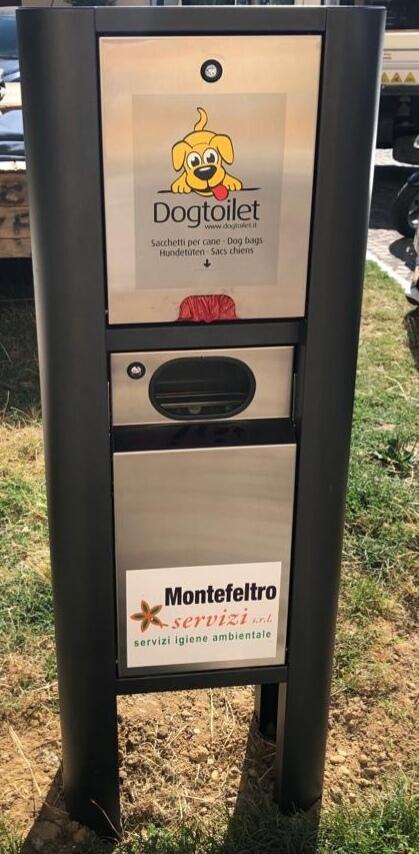 "Deiezioni dei cani, a Novafeltria arrivano le ""Dog Toilet"""