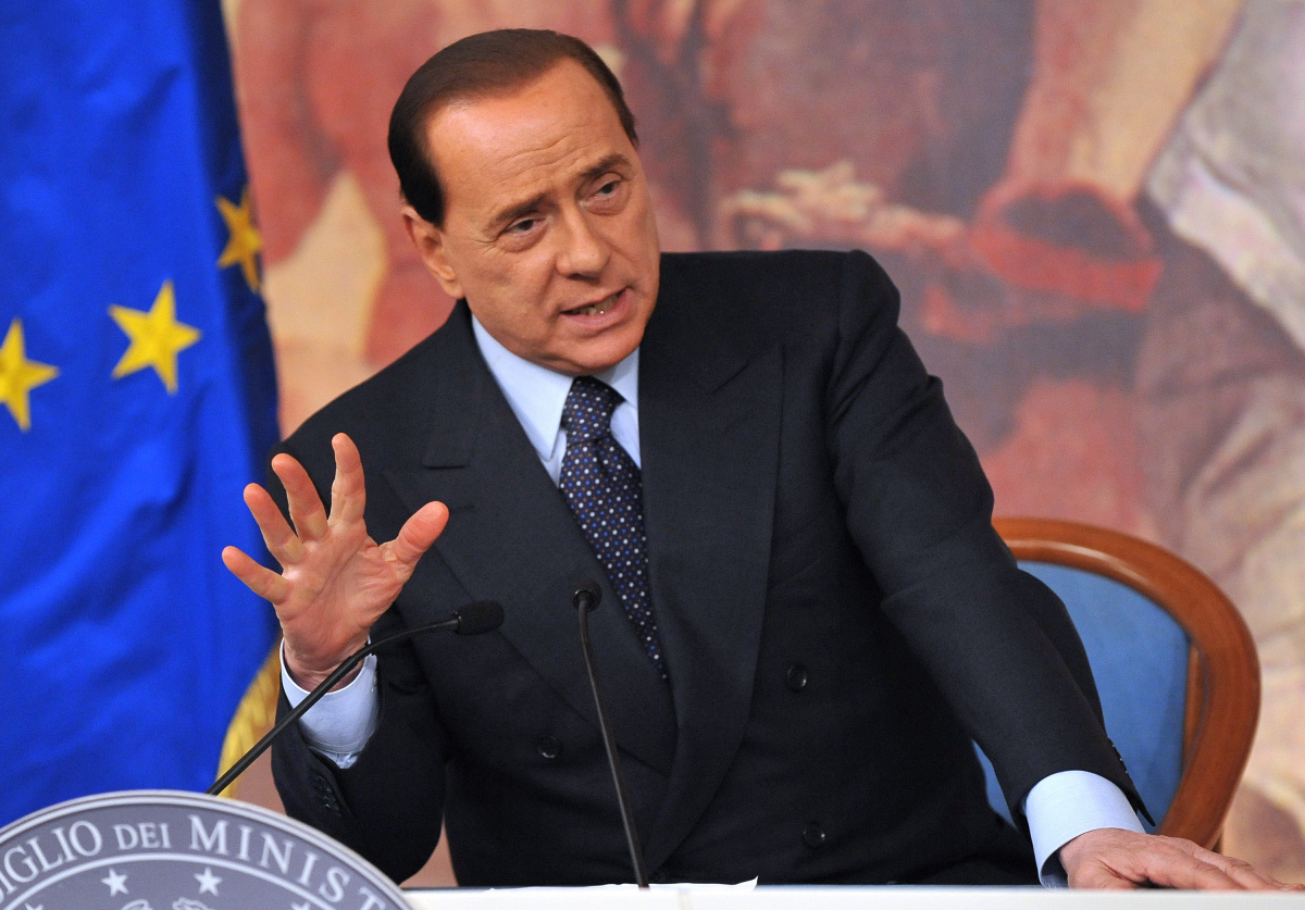 Berlusconi finisce male