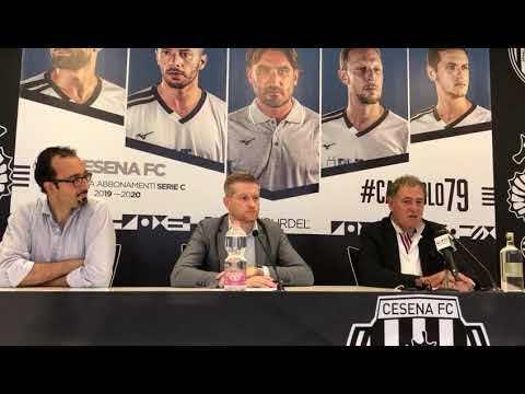 """Calcio serie C, Patrignani: """"Cesena, ci divertiremo"""" - VIDEO"""