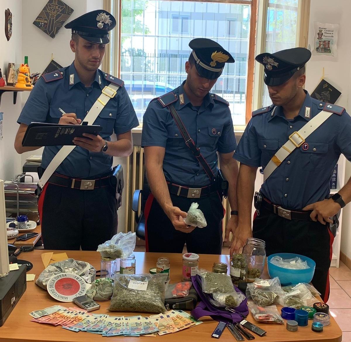 Droga, sei studenti forlivesi nei guai a Ravenna