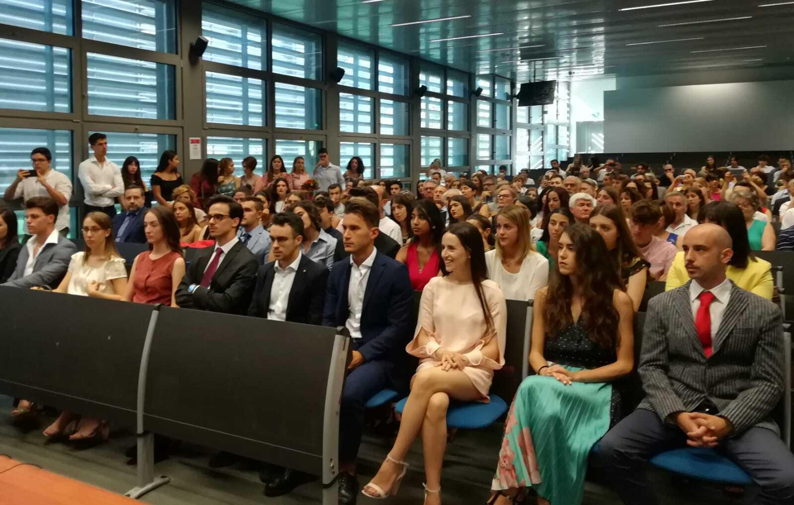 Forlì, ecco i primi 20 laureati del corso di management
