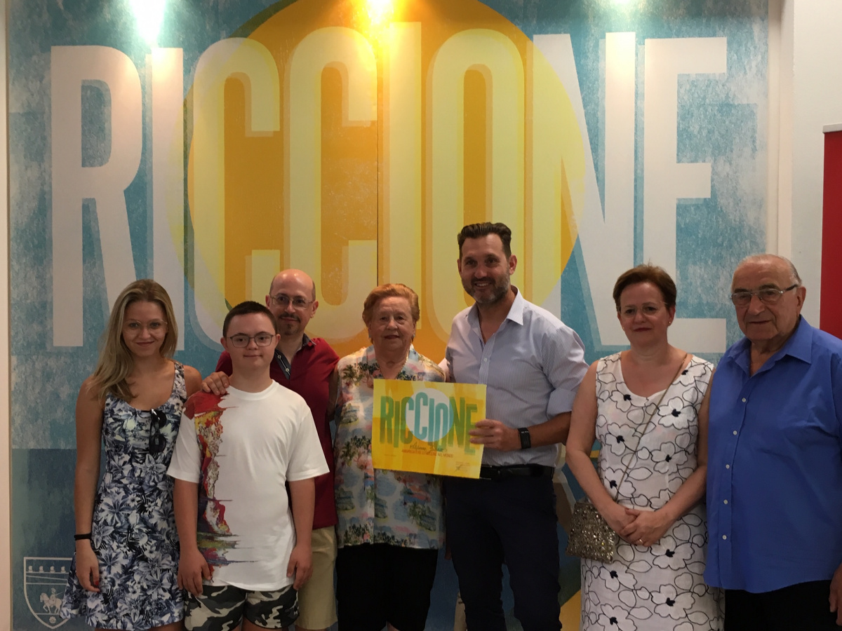 Turisti fedeli nominati ambasciatori di Riccione