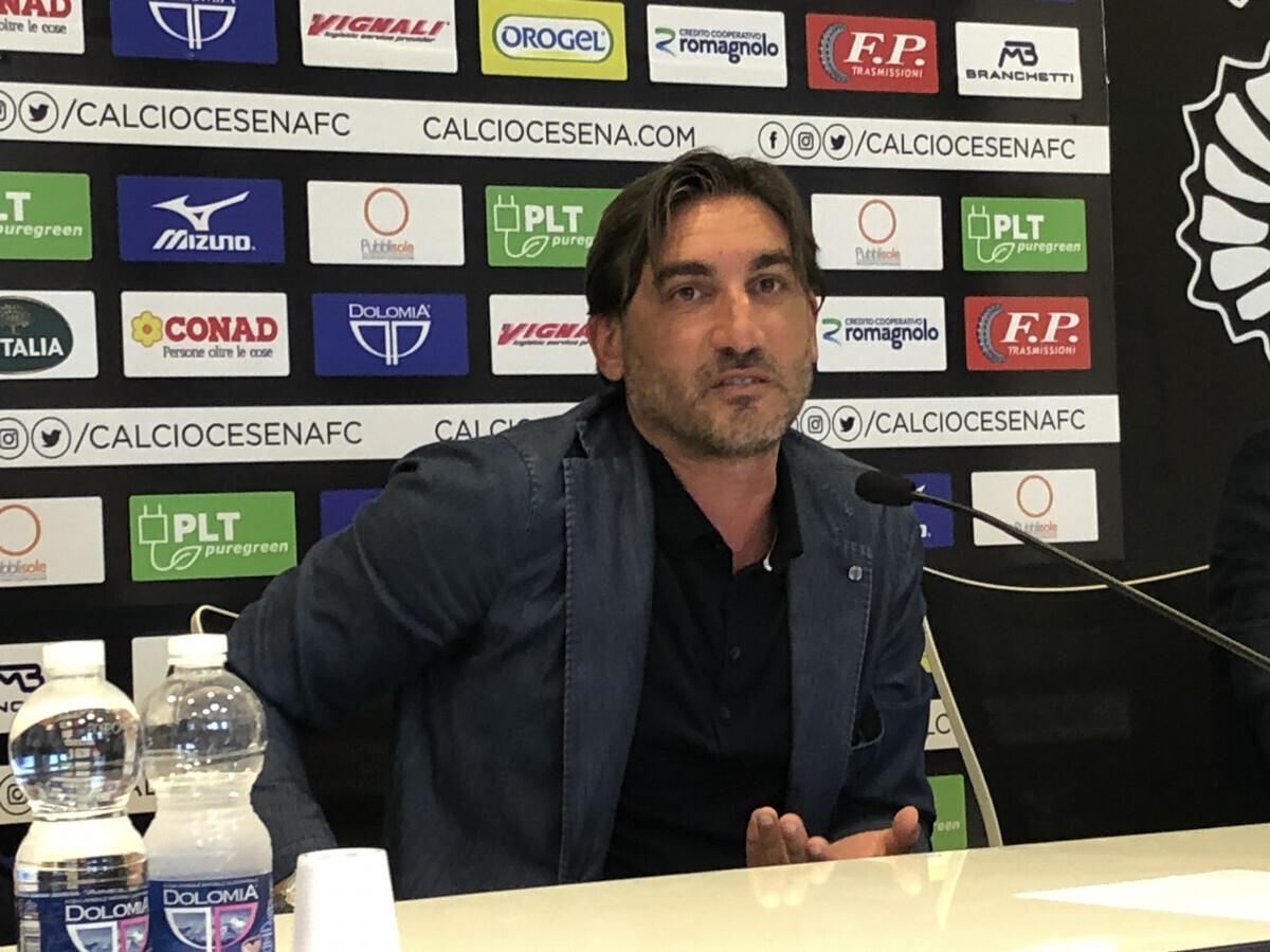"""Cesena, Modesto si presenta: """"Vogliamo far crescere i giovani"""" - VIDEO"""