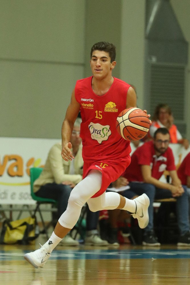 Basket, la  Rekico Raggisolaris Faenza tessera Michele Rubbini