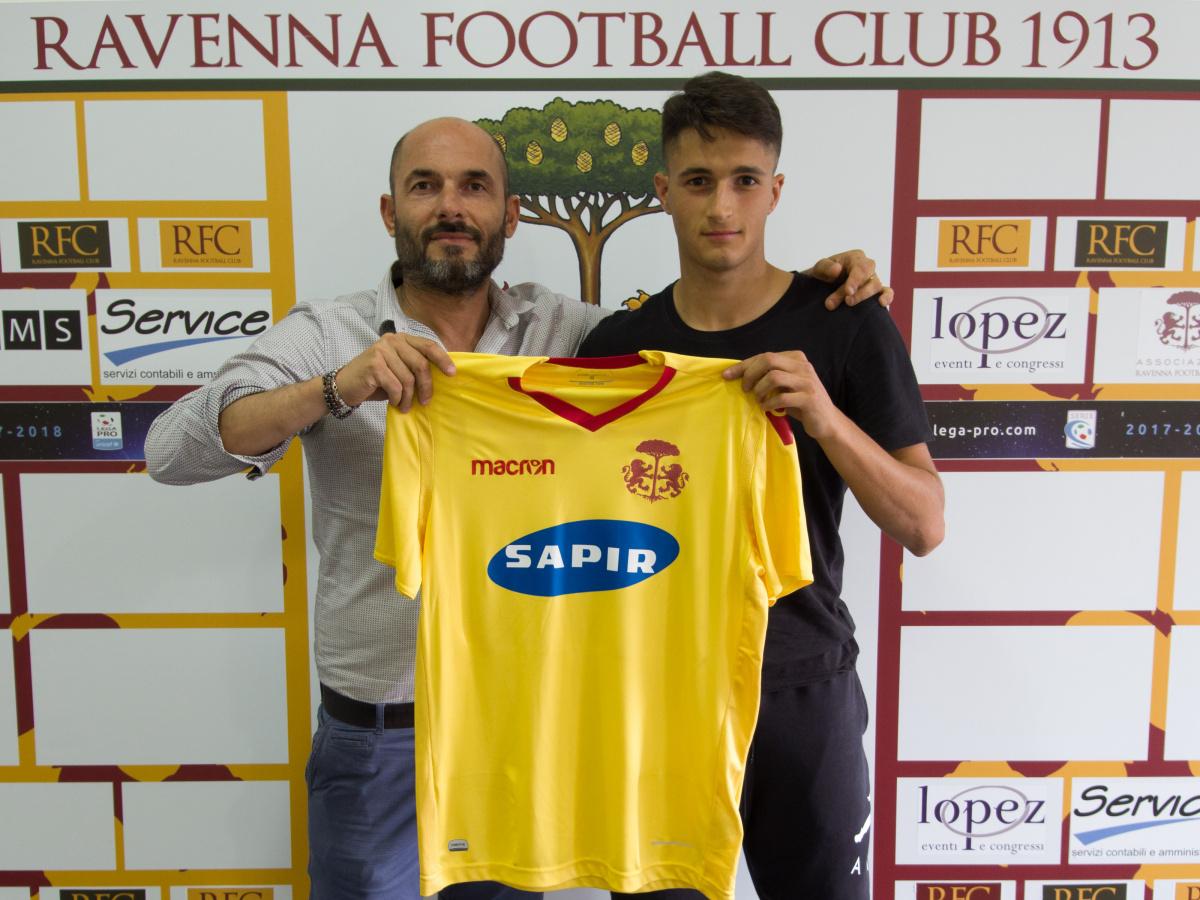 Calcio, a Ravenna arriva Ricchi dall'Empoli