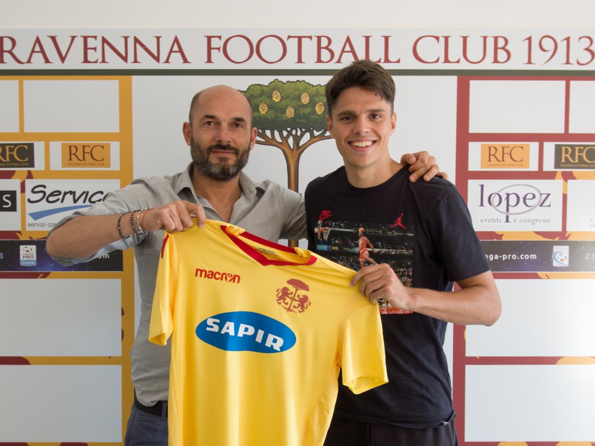 Calcio, Grassini dall'Inter al Ravenna