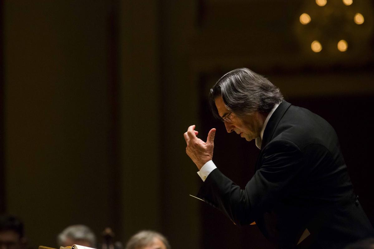 Riccardo Muti a Rimini, concerto alla presenza di Mattarella